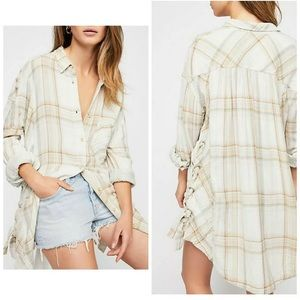 Free People Nordic Day oversized top